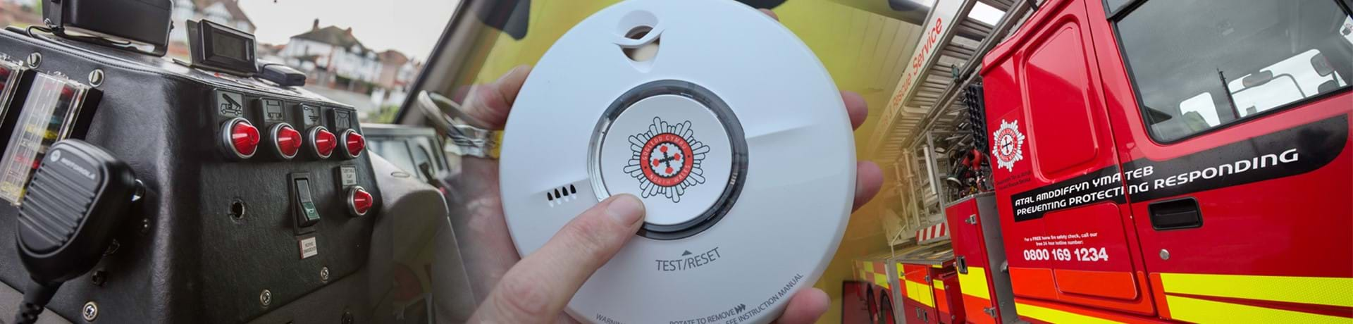 Promoting smoke alarm testing
