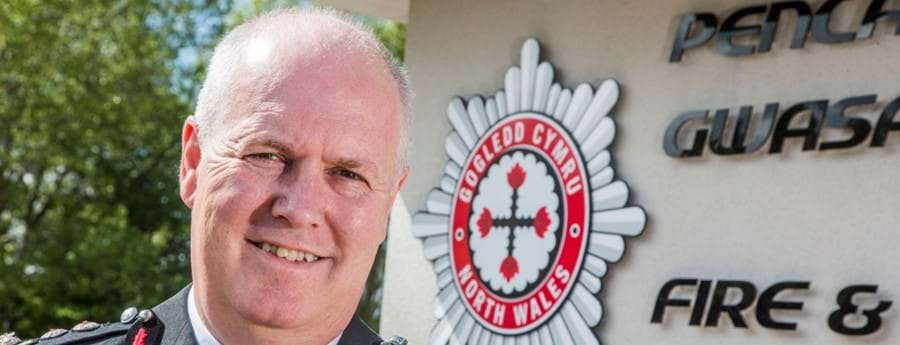 Chief Fire Officer Simon Smith