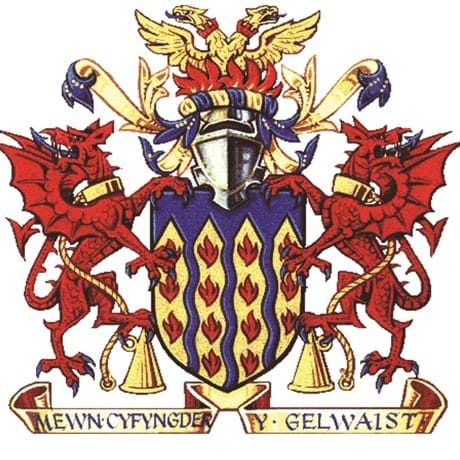 North Wales Fire and Rescue Authority Crest
